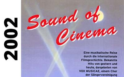 2002 Sound of Cinema